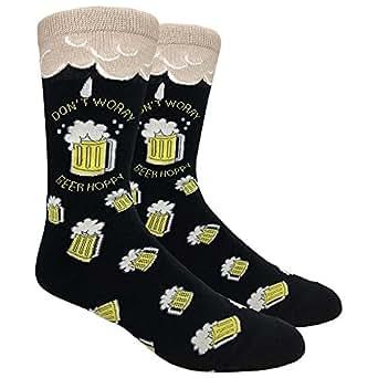 Amazon.com: Urban Peacock Men's Novelty Fun Dress Socks