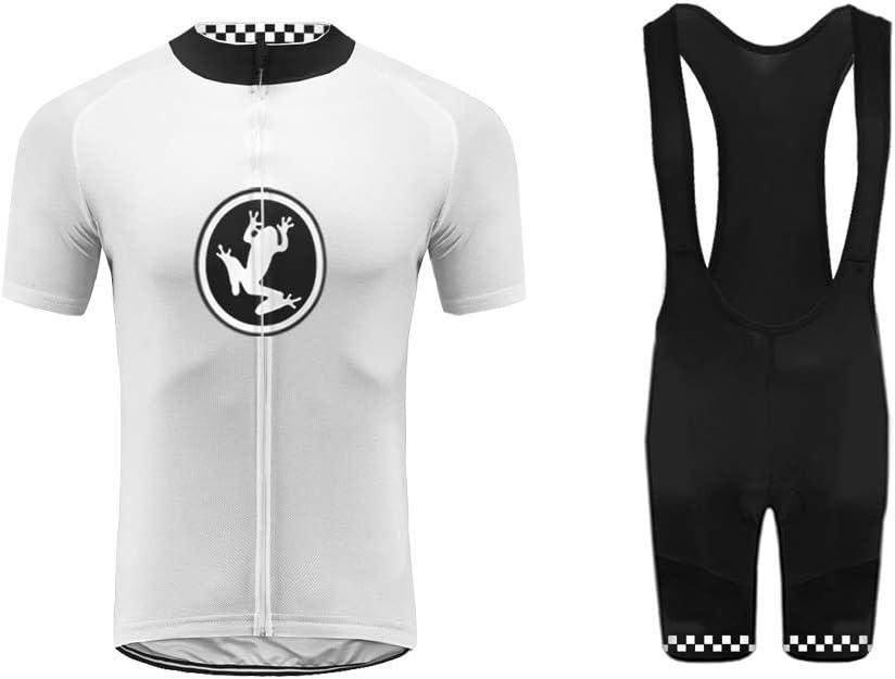Uglyfrog 2019 Manga Corta Ropa Conjunto Traje Equipacion Ciclismo Hombre Verano con 3D Acolchado De Gel, Maillot Ciclismo + Pantalon/Culote Bicicleta para MTB Ciclista Bici: Amazon.es: Deportes y aire libre