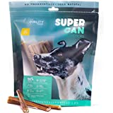 """SUPER CAN BULLYSTICKS Junior Thin Bully Sticks for Dogs - Premium All Natural Dog Treats and Chews - Free Range Grass Fed Cattle Beef (6"""" Junior [25 Pack])"""