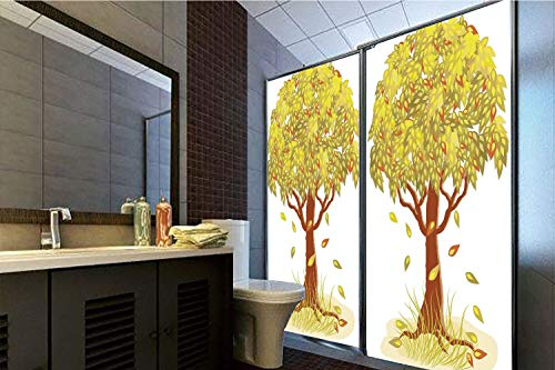 (Decorative Privacy Window Film, 35.43