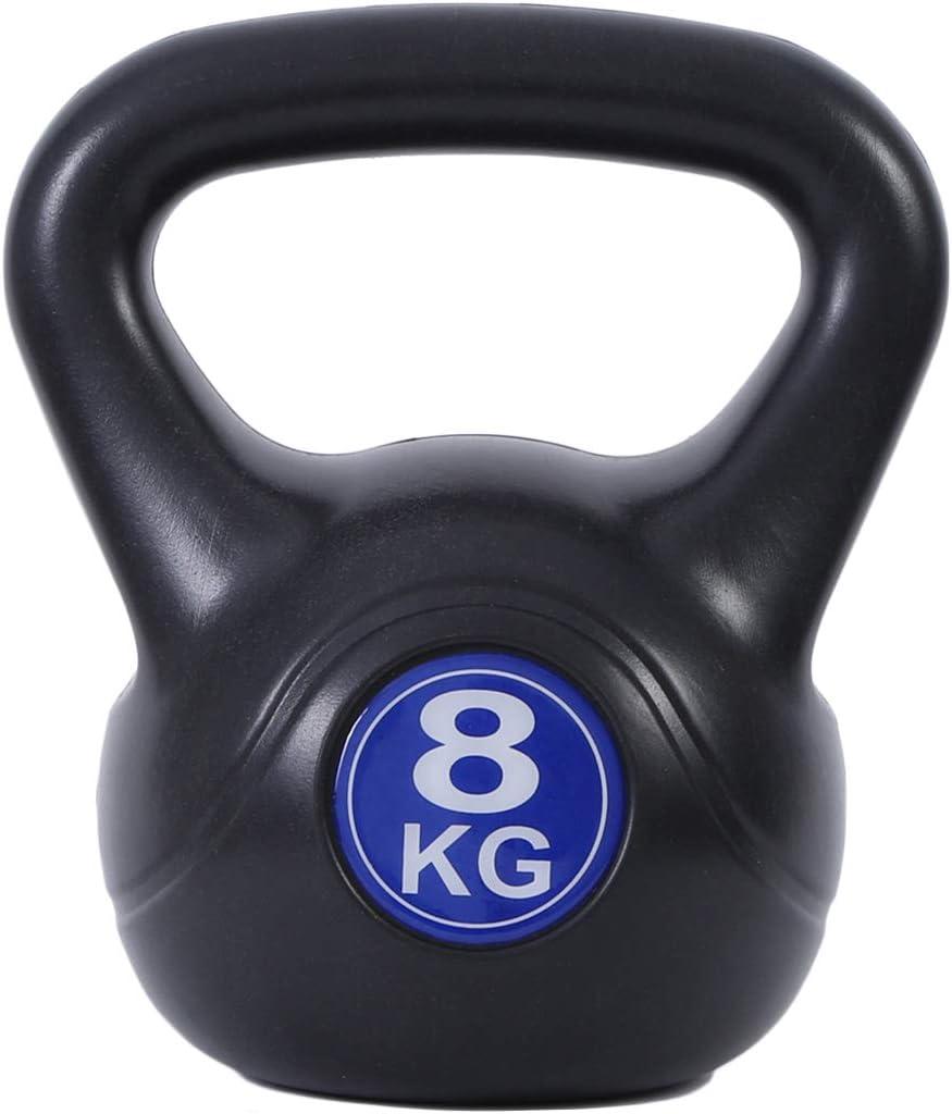 AKT Kettlebell Campana de la Caldera Hombres y Mujeres Entrenamiento de Fuerza Equipamiento Deportivo Profesional Gimnasio de Deportes Mancuernas del Hogar Entrenamiento con Pesas