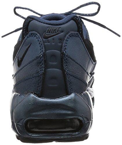 [807443-900] Air Max 95 Chaussures De Sport Haut De Gamme De La Femme Nikemtlc Arsenal Nvy / Noir Sqdrn Hématite Métallique Blm / Noir / Anthracite