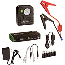 Dr Tech X1-Compressor InteliCharge Car Multi-Function 13600mAh Jump Starter with Portable Power Charger