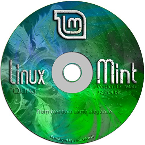 Linux Mint 17 Special Edition DVD - Includes both 32-bit and 64-bit MATE - Led Boot Indicator