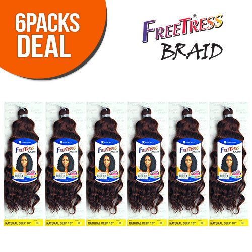 FreeTress Synthetic Crochet Braids Natural product image