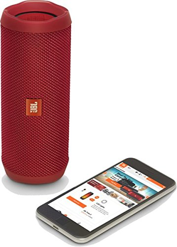 jbl flip 4 waterproof portable bluetooth speaker red. Black Bedroom Furniture Sets. Home Design Ideas