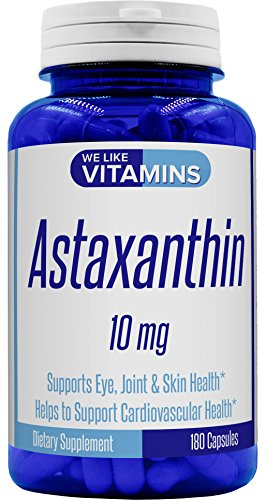 New Formula Astaxanthin 10mg Supplement