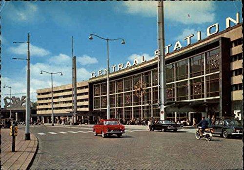 Centraal Station, Rotterdam Rotterdam, Netherlands Original Vintage Postcard
