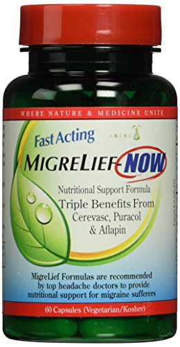 Migrelief NOW Fast Acting 60 Capsules by MigreLief