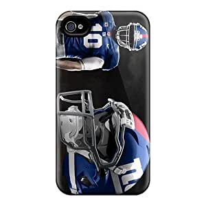 Hard Plastic Case For Iphone 4/4S Cover Back Covers,hot New York Giants Cases At Perfect Customized