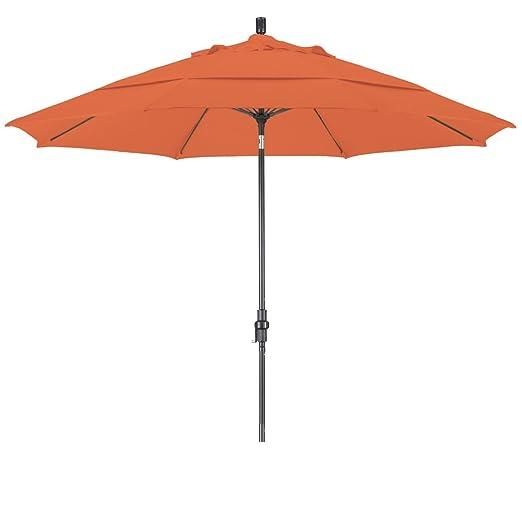California Umbrella 11u0027 Sunbrella Fabric Patio Umbrella