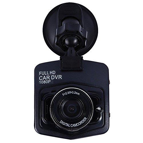 AutoLover® Mini Car DVR Camera Full HD 1080P DCR Detector Recorder Camcorder Parking Recorder Dash Cam Video G-sensor (Black)