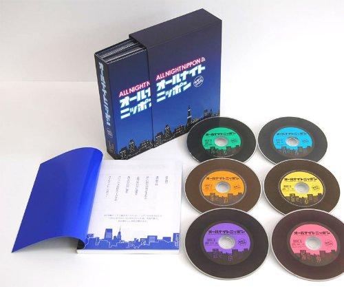 オールナイトニッポン-青春の45回転- CD-BOX(6枚組) B009OR6Q6W
