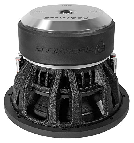Rockville Destroyer 12D1 12 Competition Car Audio Subwoofer w/USA Voice Coils!