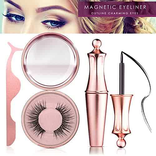 Magnetic Eyeliner Kit, Magnetic Eyeliner With Magnetic Eyelashes, Magnetic Lashliner For Use with Magnetic False Lashes (PI)