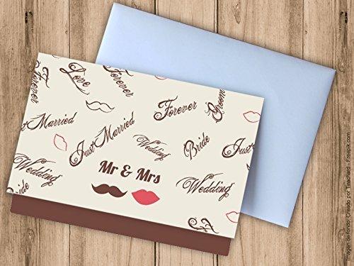 Tarjeta sobre para regalar dinero a los novios. Sobres para bodas ...