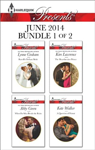 book cover of Harlequin Presents June 2014