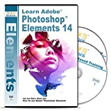 Photoshop Elements 14 Tutorial Software Over 15 Hours 233 Videos on 2 DVDs - Complete Training for Adobe Photoshop Elements