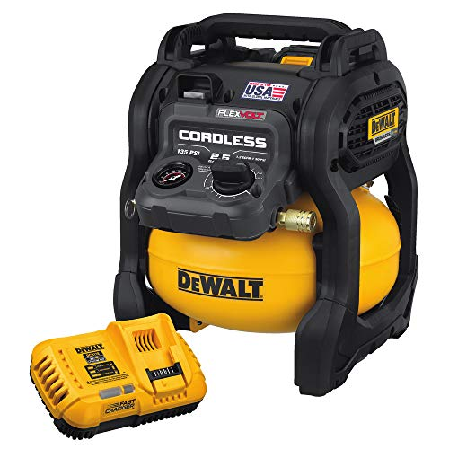 DEWALT DCC2560T1 FLEXVOLT 60V MAX 2.5 Gallon Cordless Air Compressor Kit (Made In the USA)