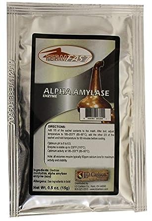 fermfast hozq8 - 049 amilasa enzimas dosis única paquete 10 G seco ...