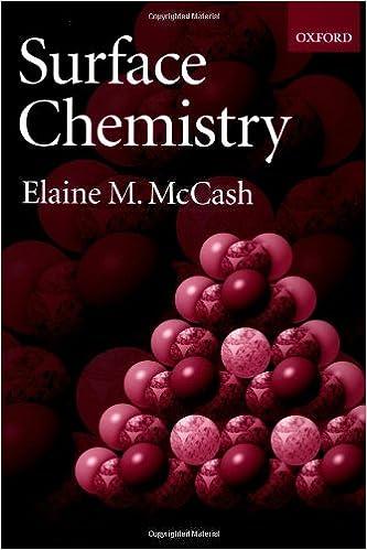 Telecharger Le Livre En Anglais Pdf Surface Chemistry En