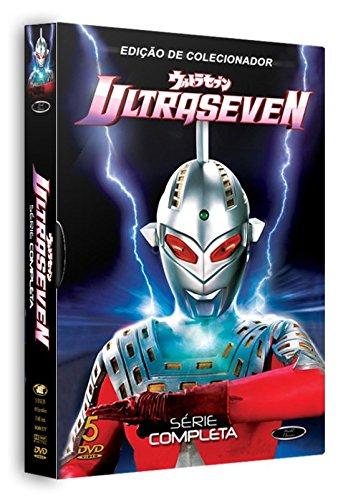 DVD Box Ultraseven The Complete Series [ Urutorasebun ] [ Brazilian Edition ] [ 5-Disc Set ] [ NO ENGLISH ]