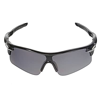 9ec8e79c3 Protective Outdoor Sport Sunglasses UV 400 for Men + Women – Best for Golf  – Running – Cycling – Fishing – Driving – 100% UV Protection Block Glare  and ...