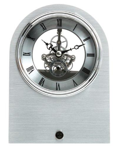 (Maple's Skeleton Aluminum Table Clock)