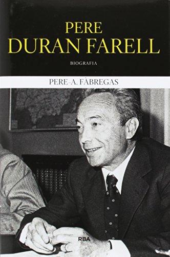 Descargar Libro Pere Duran Farell Pere A. FÀbregas