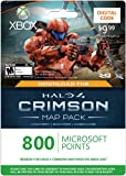 Xbox LIVE 800 Microsoft Points for Halo 4 Crimson Map Pack [Online Game Code] image