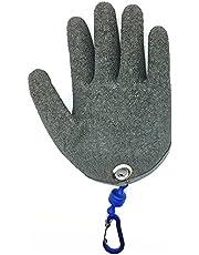 TOPIND Visserijhandschoenen Jacht Handschoen Waterdichte Anti-cut Handschoen PE Draad Geweven Latex Visvanghandschoenen met Magneet Release Vissen Slijtage M L XL 1 st