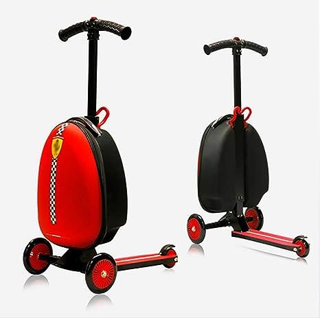 BBUKK - Maleta 2 en 1 multifunción para scooter, equipaje ...