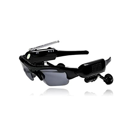 DANDANJIE Walkie-Talkie Gafas de Sol Gafas Smart Sports ...