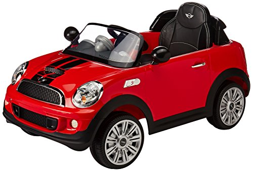 Prinsel - Auto Eléctrico Mini Cooper S, color Rojo (1214)