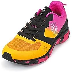 Zumba Fitness LLC Women's Strong by Zumba Fly Fit Sneaker, Orange, 7.5 Regular US