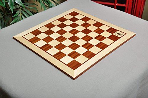 Mahogany Maple Chess Board - 4