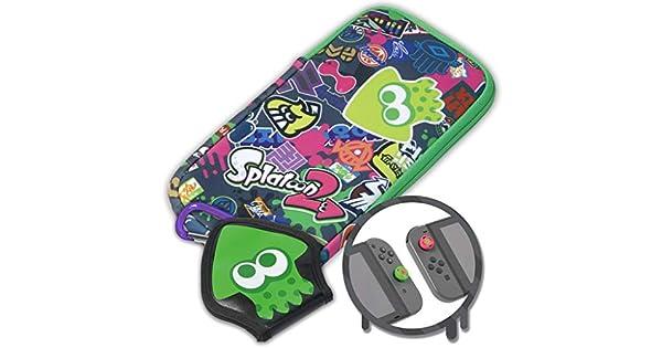 Hori - Splatoon 2 Splat Pack (Nintendo Switch): Amazon.es: Videojuegos