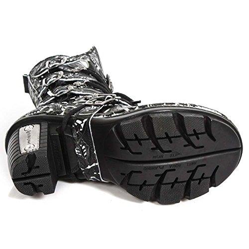 New Rock Neotrail Women's Leather Black Boots M.NEOTR005-S35 Black 1tn9S