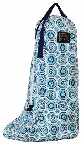 Equine Couture Women's Kelsey Boot Bag, Aqua, Standard (Equine Couture Kelsey)