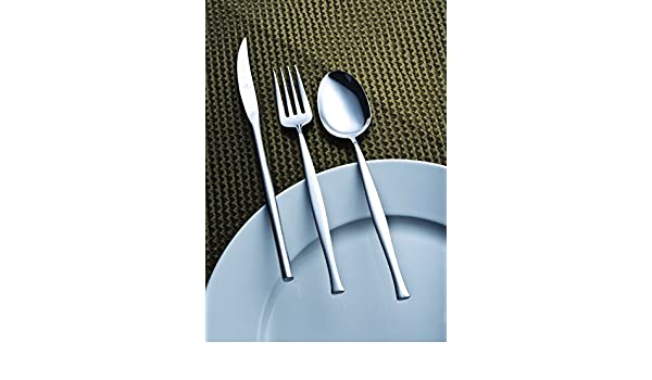 Amazon.com: idurgo Moon Ref. 17700 Cutlery Set, Stainless Steel: Home & Kitchen