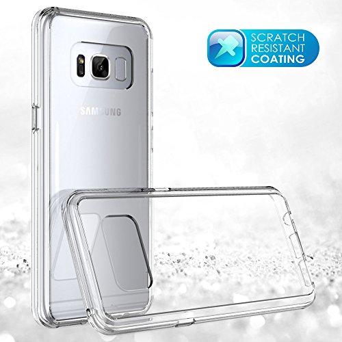 Samsung Galaxy S9 Plus Case, Moonmini Para Samsung Galaxy S9 Plus Crystal Clear Soft TPU parachoques PC Duro Anti arañazos a prueba de golpes Funda Protectora Carcasa Funda Transparent Como se muestra