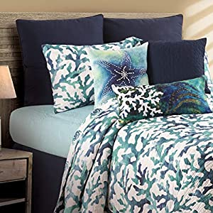 51sSunUJROL._SS300_ Coastal Bedding Sets & Beach Bedding Sets