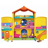 La ventana Dora la Exploradora de Fisher-Price sorprende a la casa de muñecas
