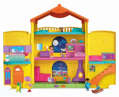 - Fisher-Price Dora the Explorer Window Surprises Dollhouse
