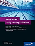 img - for Official ABAP Programming Guidelines book / textbook / text book