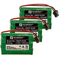 Synergy Digital Cordless Phone Batteries - Replacement for Radio Shack 23-961 Cordless Phone Battery (Set of 3)