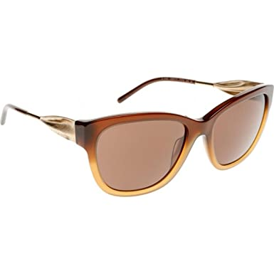 faab341b10 Image Unavailable. Image not available for. Color  Burberry Women s BE4203  Sunglasses Brown Gradient ...