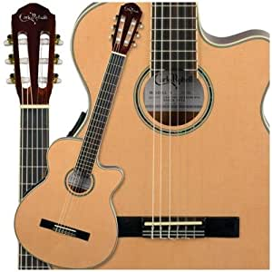 carlo robelli ccgt50 nylon string acoustic electric guitar musical instruments. Black Bedroom Furniture Sets. Home Design Ideas