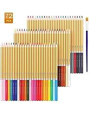 TOPERSUN Lápiz de Color 72 Colores Regalo Ideal para Artistas, Adultos y Niños