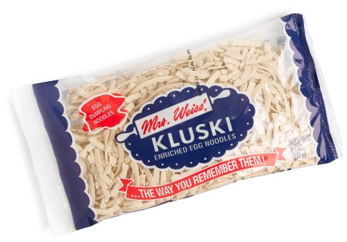 (Mrs. Weiss Kluski Enriched Egg Dumpling Noodles, 8-Ounce Packages (Pack of)